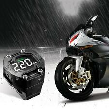 LCD Display Steelmate Motorcycle TPMS Wireless Tire Pressure Monitor 2 Sensor