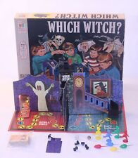 VTG Which Witch Board Game Milton Bradley 1971 4012 Complete Haunted House Rare