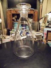 Val St Lambert CONCERTO Crystal Decanter MINT Mid Century