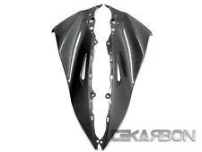 2011 - 2015 Kawasaki ZX10R Carbon Fiber Upper Side Fairings - 1x1 plain weaves