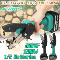 288VF 1200W One-Hand Saw Woodworking Electric Chain Saw Wood Cutter Cordless