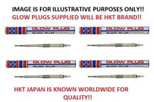 x4 Glow Plugs (HKT JAPAN) For Ford Ranger ER61 2.5TD / ER69 3.0TD 2/2006-2011