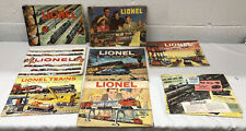 Vintage Lionel Catalogs 50's And 60's