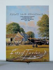 Front Line Hurricanes RAF Hawker Hurricanes Robert Taylor Aviation Art Brochure