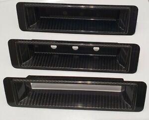 Mk2 Escort Carbon Fibre Switch Panel Dash Heater Control Surround Fascia
