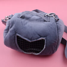 1x Pet Small Animal Carrier Bag Travel Warm Bag Rat Hamster Guinea Pig Pouch Bed