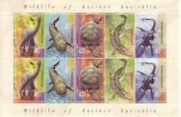 Australia Post Decimal Mini Sheet - 1997 - Wildlife of Ancient Australia - MNH