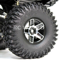 RC 1/10 Scale Truck Rims Wheel 1.9 Rock Crawler BEADLOCK Metal 5 STAR SWAMPERS