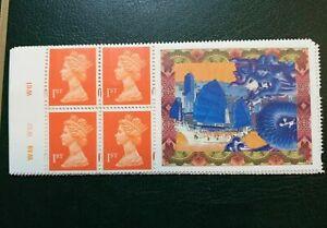 MINT 1997 GB ROYAL MAIL BOOKLET HONG KONG COMMEMORATIVE LABEL BOOKLET PANE