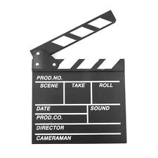 Large 7.8''x7.8'' Film Clapperboard Clapper Board Hollywood Movie Stage Prop