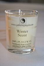 Organic Votive Christmas Candle Sustainable Soy/Palm Wax Burns 24hrs