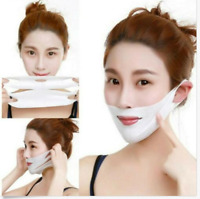Miracle V-Shaped Slimming Mask Face Care Slimming Mask (1/2 Pieces/Set) DE rr