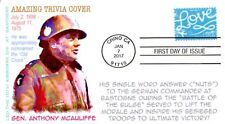 COVERSCAPE computer generated WWII General Anthony McCauliffe Trivia FDC