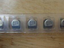 3 X Nuovo stato solido Elettrolitici Condensatore 4V 100uF Surface Mount 5mm-w1p