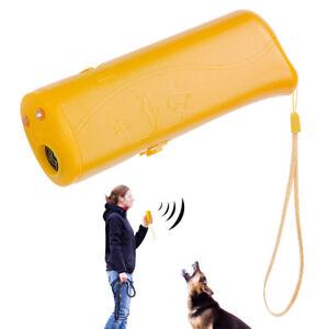 Anti Barking Ultrasonic LED Lighting Dog Training Cat Dog Maching Trainer Tools