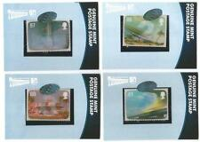 Thunderbirds 50 Years Set of 4 Motion Stamp Case Topper Chase Set - Unstoppable