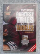 STATE OF ORIGIN QUEENSLAND 25 YEARS OF GREATEST TRIES AND TACKLES DVD G R4