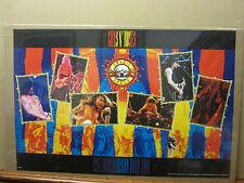 Guns n' roses rock n roll original Vintage Poster 1991 1679