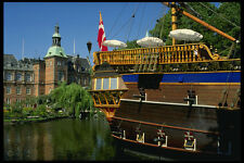 372038  The Frigate  restaurant with HC Andersen Castle Tivoli Gardens A4 Photo