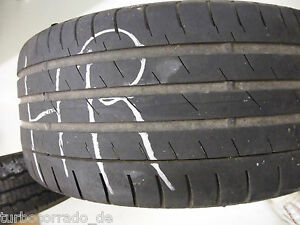 1 Continental SportContact 3 245/45 R17 95W MO DOT3909 3mm