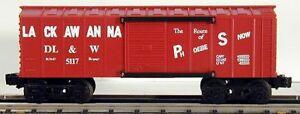 discountinued Lionel K Line Lackawanna Boxcar 5117 used w/box
