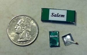 Dollhouse Miniature Cigarettes Pack Carton 1:12 in scale SAL K65 Dollys Gallery