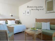 PICTURE STORY Vinyl Wall Art Decal Home Quote Decor