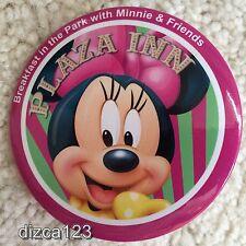 Disney Button Dining Disneyland Plaza Inn Button