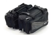 BIKE TEK LARGE SADDLE BAGS THROW OVER PANNIERS 10 - 21 LITRE