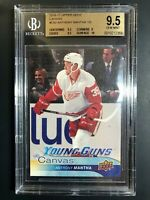2016-17 Upper Deck Anthony Mantha Young Guns Canvas Rookie BGS 9.5