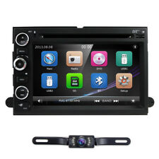 Double Din Car Stereo DVD Player GPS Radio For Ford F150 Fusion Expedition Edge