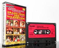 GRAND PRIX DER VOLKSMUSIK 1988 - 16 Hits Teldec MC Kassette tape cassette