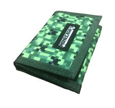 Minecraft Kids Childrens Official Creeper Logo Wallet