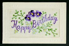 WW1 Silk Postcard Schofield Bonegate Road Brighouse Yorkshire HD6