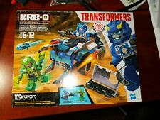 Hasbro KRE-O Transformers STRONGARM Capture Cruiser Action Figure Building Set