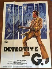 MANIFESTO 4F,S,Detective G Trouble Man,Ivan Dixon 1972,Paul Winfield, Marvin Gay