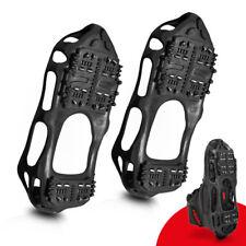 1 Paar Schuhspikes Schwarz Schuh Spikes Eiskrallen Schneeschuhe Winterdienst