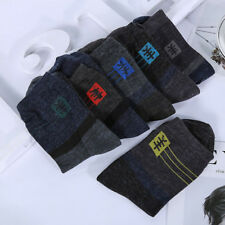 1 Pairs Men's Winter Wool Cashmere Socks  Casual Deodorant Thicker Socks US