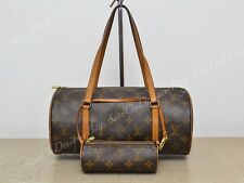 Louis Vuitton LV Papillon 30 Monogram Shoulder Used Authentic Accessory Pochette