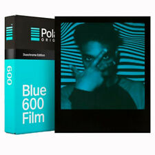 Polaroid Originals 600 DUOCHROME Blue & Black Instant Film-datée 10/17