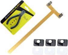 Chuangtong Archery Bowstring Nocking Points Pliers + Black T Shape Bow Square Ru
