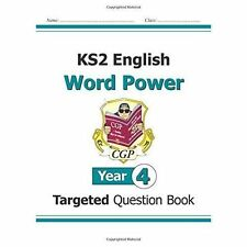 KS2 English Word Power Year 4 Targeted Question Book CGP 9781782942061 New