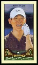 ANTHONY KIM 2011 UD GOODWIN CHAMPIONS PGA TOUR FIRST MINI ROOKIE CARD RC #98 AK