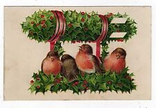 Christmas Unposted Embossed Collectable Greeting Postcards