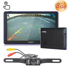 "XGODY 886 7"" GPS Navigation Bluetooth Wireless Rearview Camera 256MB World Maps"