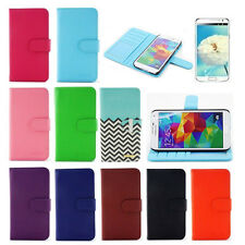 PU Leather Wallet Flip Hard Stand Case Cover For Samsung Galaxy S5  Note 4