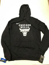 Nike Mens Chicago Bulls NBA Essential Logo Hoodie Sweatshirt XL NEW Pullover NWT