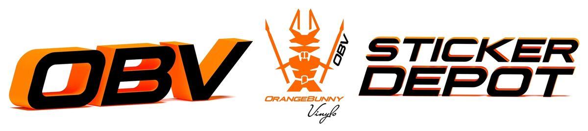 OrangeBunny Aufkleber