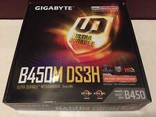 GIGABYTE B450M DS3H, Socket AM4, AMD Motherboard
