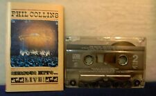 Phil Collins Serious Hits... LIVE! 15 track 1990 CASSETTE TAPE